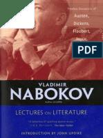 Nabokov Vladimir Curso de Literatura Europea