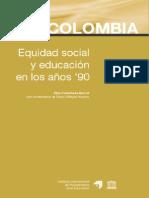 equidad social y educación años 90