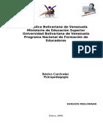 Guía didactica psicopedagogia enero 2006