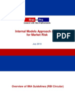 Internal Models Approach IMA