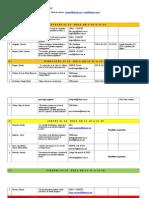Organización mesas Eje 6