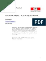 Locative Media-A Literature Review