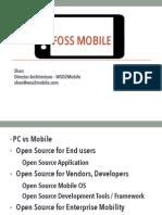 FOSS Mobile 2013