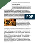 Bericht zum Grundeinkommens-Projekt in Brasilien