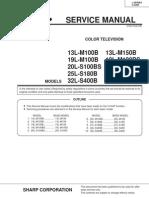 Sharp+13LM100-150B,+19LM100B-BS,+20LS100BS,+25LM-S180B