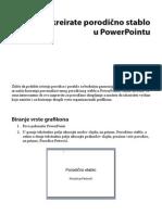 Porodicno Stablo u PowerPointu, Family tree in Power Point