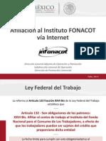 Portal Afiliacion INFONACOT