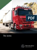 Mercedes Benz Actros Brochure