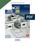 Caderno de Exercícios AutoCAD 2010 3D