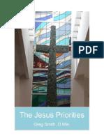 The Jesus Priorities