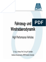 High Performance Vehicles English Aerodynamics