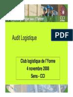 Audit Logistique PPT