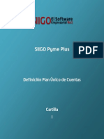 Siigo-Cartilla - Definicion Plan Unico de Cuentas