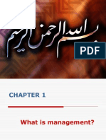 CHAPTER 1 What is Management