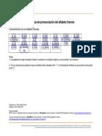 alfabeto phonetico en francés
