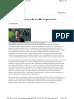 Boa Negociacao Nao Aceita Improvisos VALOR 2012-05-16