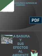 La Basura y Sus Impactos Al Medio Ambiente