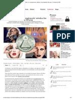 La 'conspiranoia' señala a las estrellas del pop, EL PAÍS