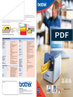 PT9500PC Brochure