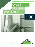 Colocar Planchas de PVC