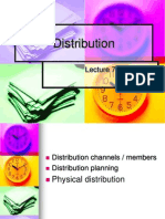 Lecture 7 Distribution