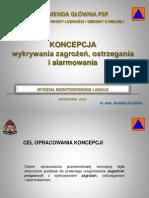 Jaroslaw Zwolinski System Wykrywania i Alarmowania