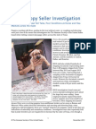 Investigation Report Texas