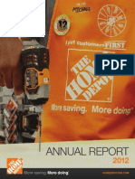 2012 Home Depot Annual Report