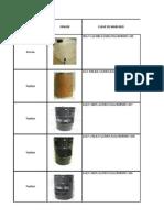 Listado de Envases y Embalajes Aprobados