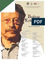 Cartel Homenaje Bolivar Echeverria