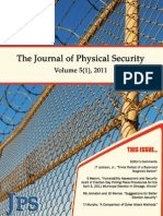 The Journal of Physical Security 5(1) 2011