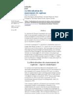 Dossiers Économiques 17--La libéralisation des mouvements de capitaux_ aspects analytiques