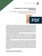 El psicoanálisis y la investigación en la universidad