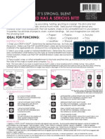 Crop A Dile Instruction Sheet