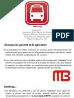 AU3CM40-Eq6-Sistema Ubicuo Metrobús (Presentación)