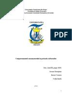 Comportamentul Consumatorului in Perioada Sarbatorilor Www.student-Info.ro