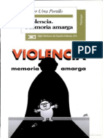 Violencia Memoria Amarga