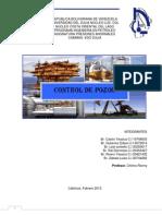 Informe Control de Pozos 2do 2012
