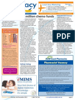 "Pharmacy Daily for Mon 02 Dec 2013 - $82 million chemo funds, Price disclosure ""failing\"", GSK Panadol recall, Weekly Comment and much  more"