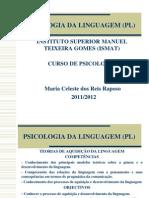 Teorias Da Linguagem 2011-2012