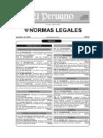 El Peruano 10.04.08