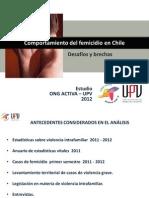 Estudio Femicidio Chile