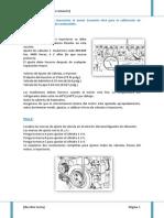 Explique la forma de sincronizar el motor Cummins N14 para la calibración de válvulas y del inyector de combustible