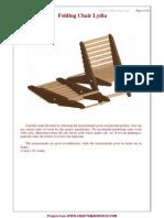 Folding Chair Lydia