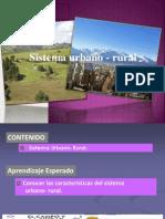 Sistema Urbano Rural