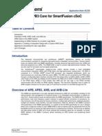 SmartFusion Build APB3core An