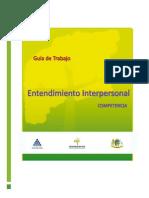 Entendimiento Interpersonal