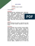 João-gomes - Talinum paniculatum (Jack). Gaertn. - Ervas Medicinais – Ficha Completa Ilustrada
