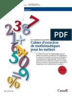 cahier exercises maths.canada