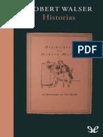 Historias - Robert Walser
